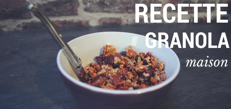 Recette de granola